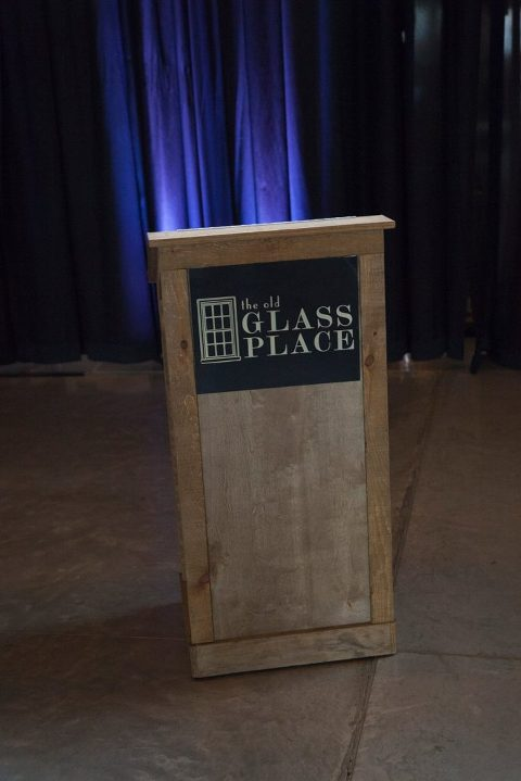 Podium rental at The Old Glass Place Springfield MO