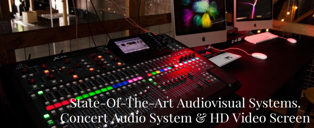 Event Sound System available for rent at Event Venue in Downtown Spgf