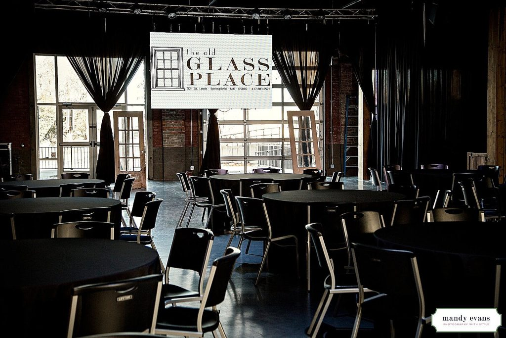Corporate Events at The Old Glass Place in Downtown Springfield MO