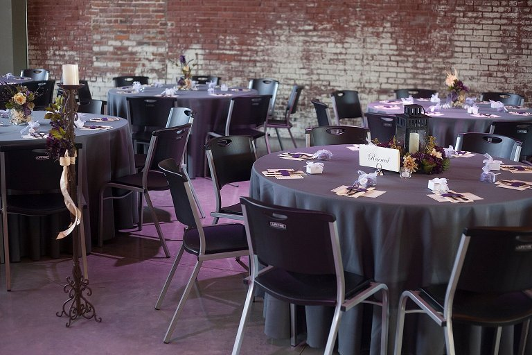 The Old Glass Place has black, grey, white or cream linen tablecloths available for rent for your event.