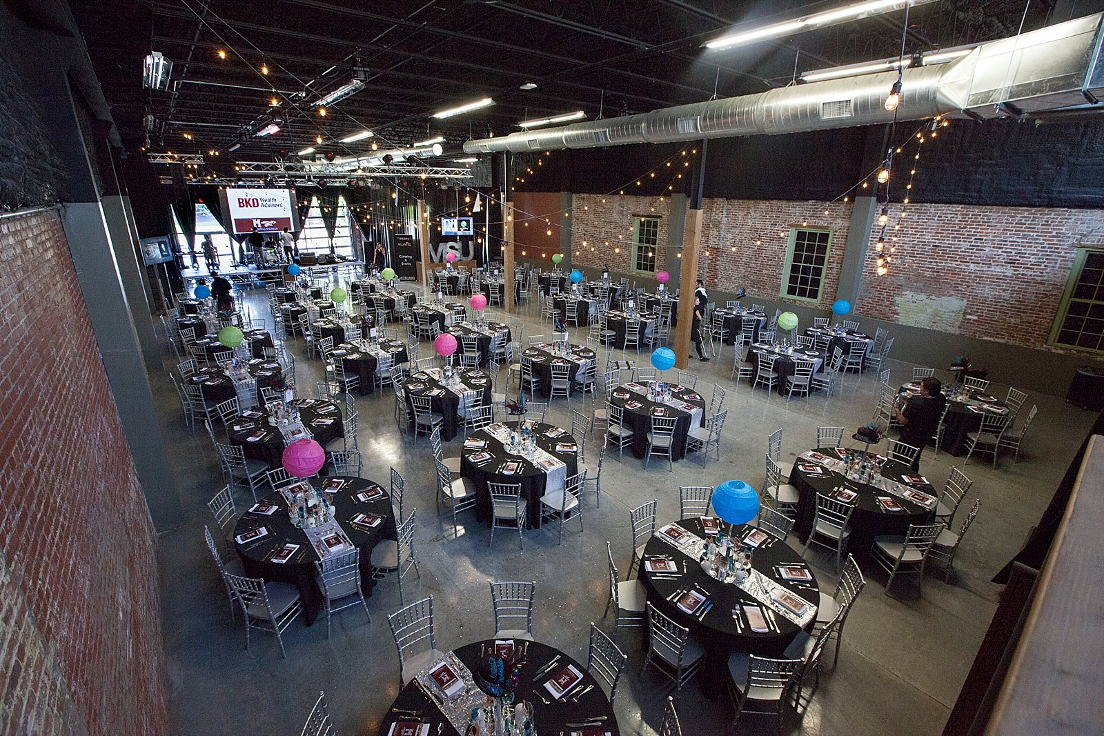 Large Event Area The Old Glass Place Event Venue