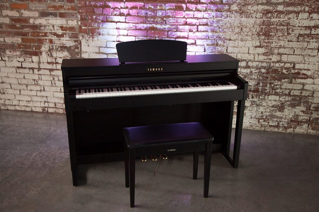 Yamaha Piano at The Old Glass Place